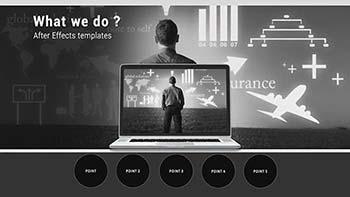 پروژه افترافکت Business Presentation-32195