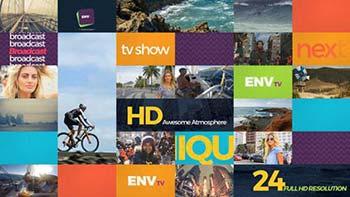 پروژه افترافکت Channel Rebrand-15962169