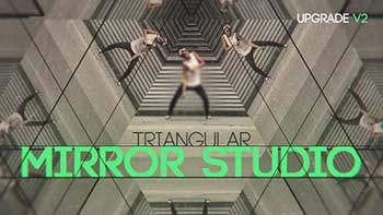 پروژه افترافکت Triangular Mirror-14562246