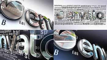 پروژه افترافکت Simple 3D Logo-12519955
