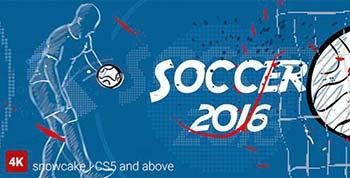پروژه افترافکت Soccer Opener-16150370