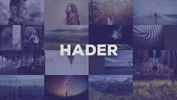 پروژه افترافکت Hader-2018