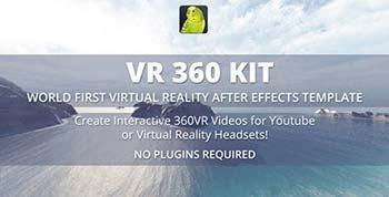 پروژه افترافکت VR 360 KIT-15823643