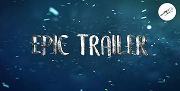 افترافکت Epic Trailer Titles