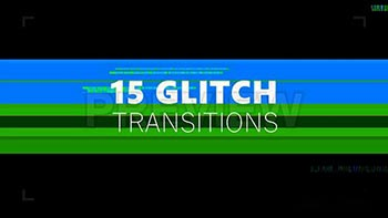 15 Glitch Transitions