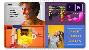 Bright Upbeat World Colorful-27933971