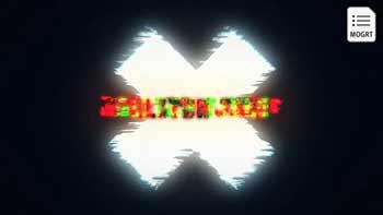 Glow Glitch Title Reveal-27880565