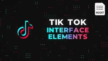 Tik Tok Interface Elements-27955906