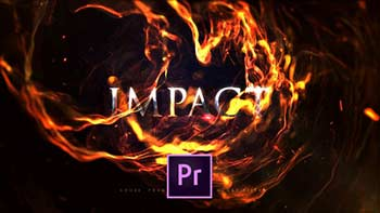 Impact Fire Flame Titles-25060968