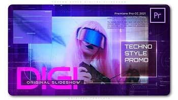 Techno Style Digital Slideshow-33119940
