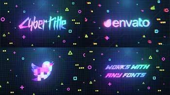 Cyberpunk Logo And Title-33298456